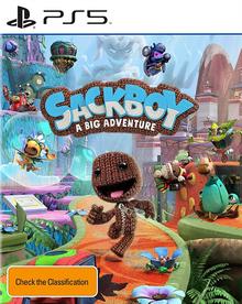 Box art for the game Sackboy: A Big Adventure