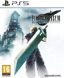 Box art for the game Final Fantasy VII Remake Intergrade