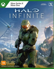 Box art for the game Halo Infinite