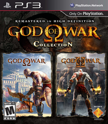 Box art for the game God of War Collection