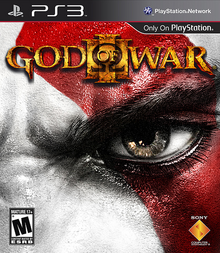 Box art for the game God of War III