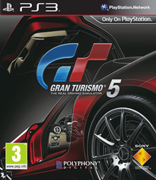 Box art for the game Gran Turismo 5