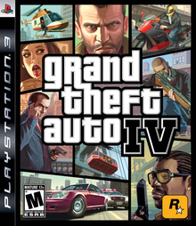 Box art for the game Grand Theft Auto IV