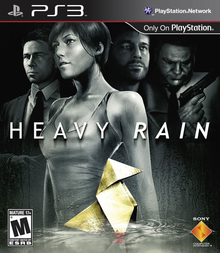 Box art for the game Heavy Rain