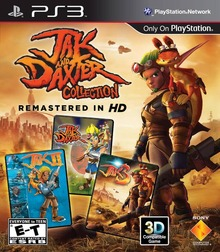 Box art for the game Jak and Daxter Collection