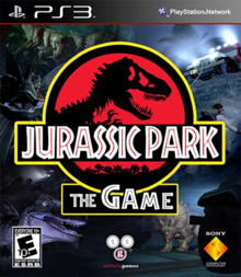 Box art for the game Jurassic Park: The Game