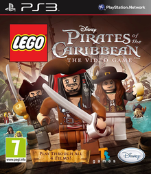 Box art for the game LEGO Pirates of the Caribbean: The Video Game