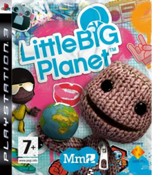 Box art for the game LittleBigPlanet