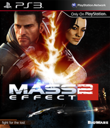 Capa do jogo Mass Effect 2