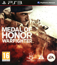 Box art for the game Medal of Honor Warfighter