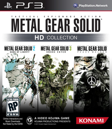 Box art for the game Metal Gear Solid HD Collection