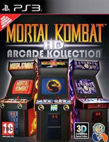 Box art for the game Mortal Kombat Arcade Kollection