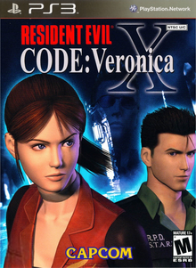 Box art for the game Resident Evil CODE: Veronica X HD