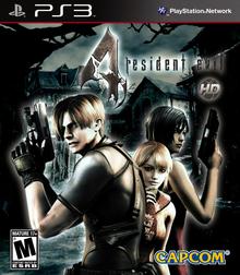 Box art for the game Resident Evil 4 HD