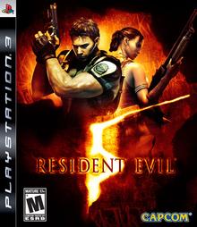 Box art for the game Resident Evil 5