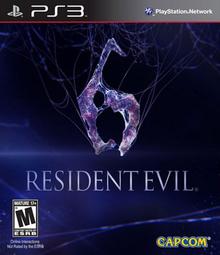 Capa do jogo Resident Evil 6