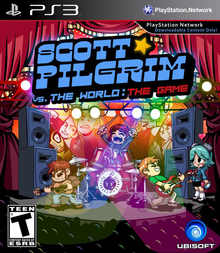 Box art for the game Scott Pilgrim vs. The World: The Game