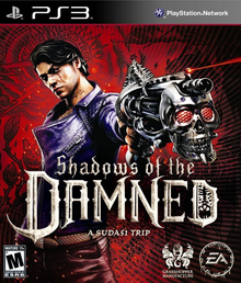 Box art for the game Shadows of the Damned