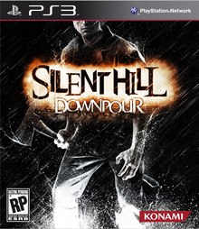 Box art for the game Silent Hill: Downpour