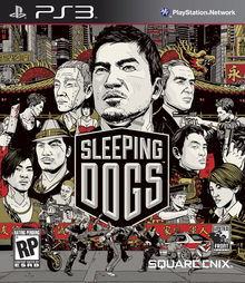 Box art for the game Sleeping Dogs