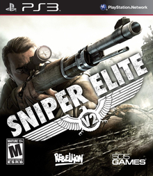 Box art for the game Sniper Elite V2
