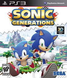 Box art for the game Sonic Generations