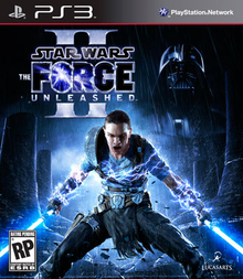 Box art for the game Star Wars: The Force Unleashed II