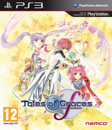 Box art for the game Tales of Graces F