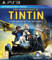 Box art for the game The Adventures of Tintin