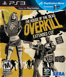 Box art for the game The House of the Dead: Overkill -- Extended Cut