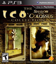 Box art for the game The Ico & Shadow of the Colossus Collection