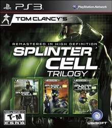 Box art for the game Tom Clancy's Splinter Cell Classic Trilogy HD