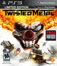 Box art for the game Twisted Metal