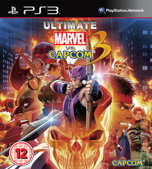 Box art for the game Ultimate Marvel Vs. Capcom 3