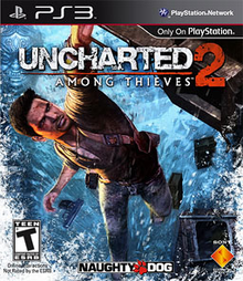 Box art for the game Uncharted 2: Among Thieves