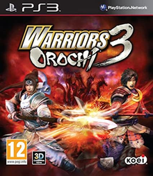 Box art for the game Warriors Orochi 3