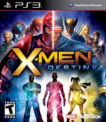 Capa do jogo X-Men: Destiny