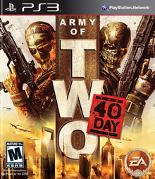 Box art for the game Army of Two: The 40th Day