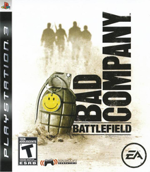 Box art for the game Battlefield: Bad Company