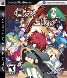 Box art for the game Cross Edge