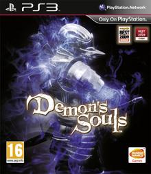 Capa do jogo Demon's Souls