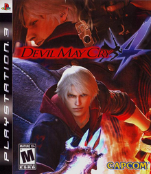 Box art for the game Devil May Cry 4