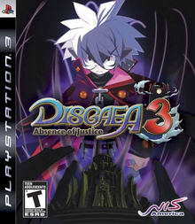 Box art for the game Disgaea 3: Absence of Justice