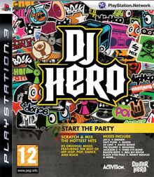 Box art for the game DJ Hero