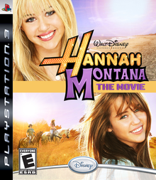 Box art for the game Hannah Montana: The Movie