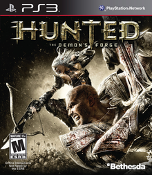 Box art for the game Hunted: The Demon's Forge