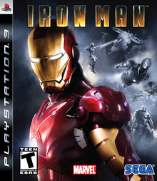 Box art for the game Iron Man