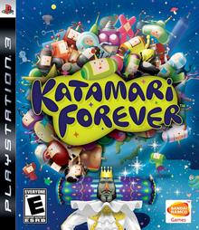 Box art for the game Katamari Forever