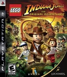 Box art for the game LEGO Indiana Jones: The Original Adventures