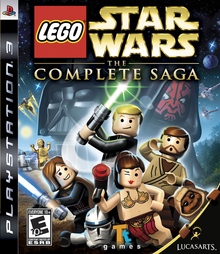 Box art for the game LEGO Star Wars: The Complete Saga